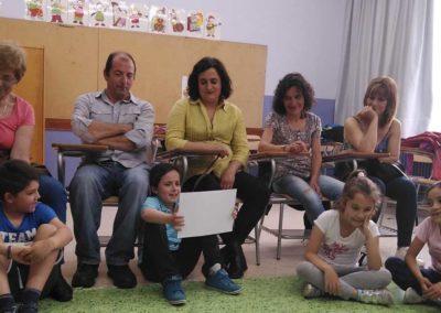 Sesión con cuentos y taller práctico